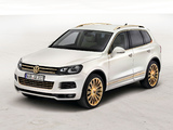 Volkswagen Touareg V8 TDI Gold Edition Concept 2011 wallpapers