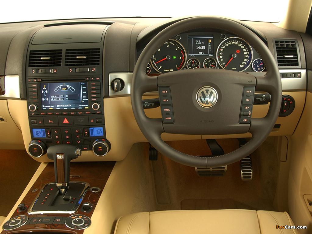 Volkswagen Touareg V10 TDI ZA-spec 2002–07 wallpapers (1024 x 768)