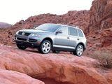 Volkswagen Touareg V8 US-spec 2002–07 wallpapers
