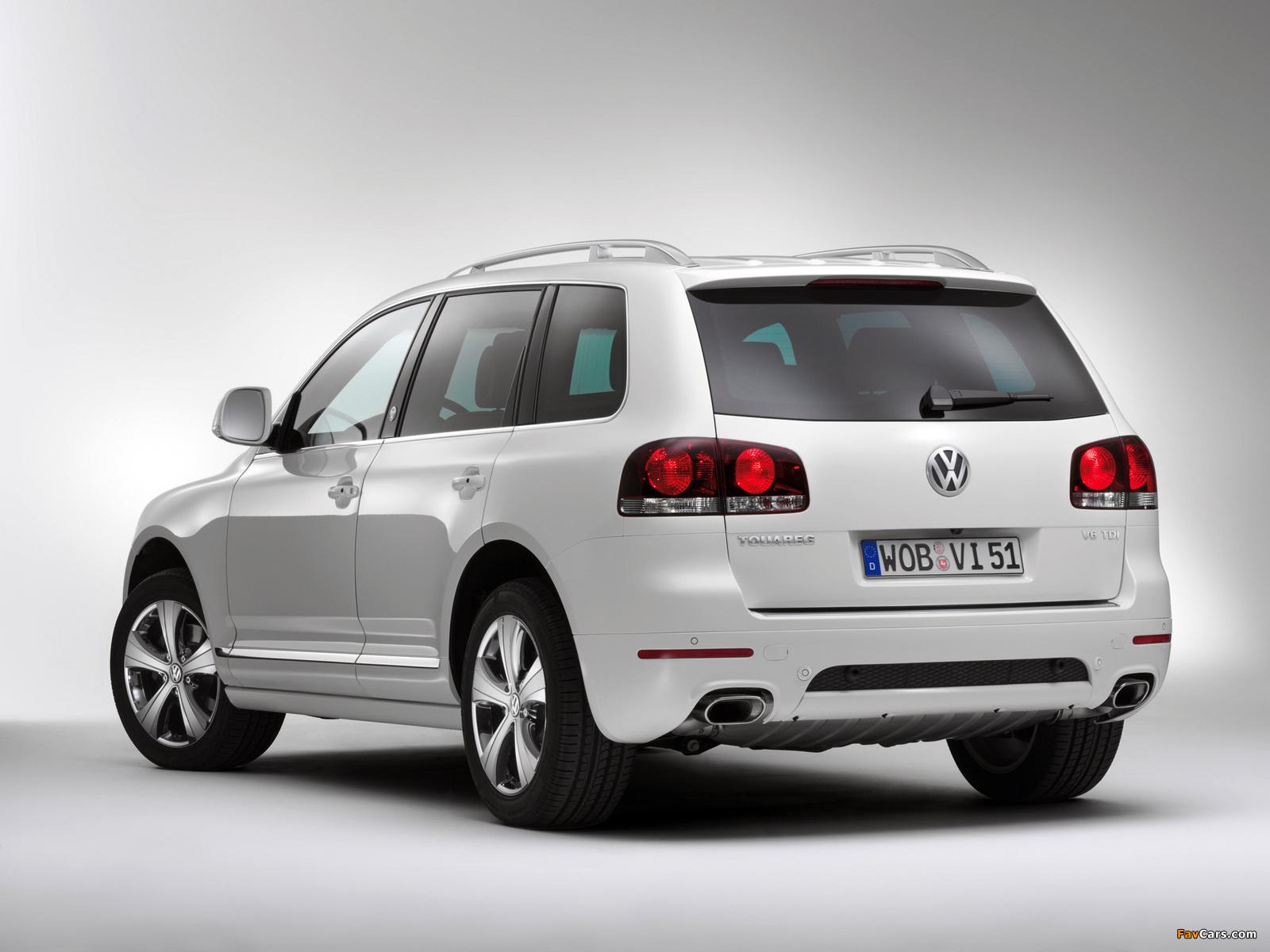 Volkswagen Touareg V6 TDI North Sails 2008 wallpapers (1600 x 1200)