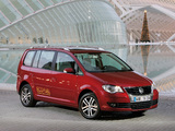 Photos of Volkswagen Touran EcoFuel 2007–10