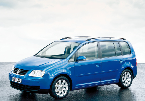 Volkswagen Touran 200306 Wallpapers