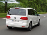 Volkswagen Touran TDI BlueMotion 2010 images