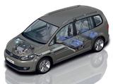 Volkswagen Touran EcoFuel 2010 wallpapers