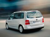 Volkswagen Touran 2003–06 wallpapers