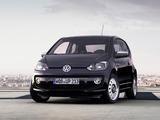 Images of Volkswagen up! Black 3-door 2011