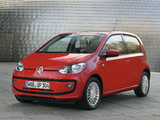 Images of Volkswagen eco up! 5-door 2013