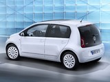 Photos of Volkswagen up! White 5-door 2012
