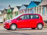 Photos of Volkswagen up! 5-door UK-spec 2012