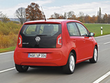 Photos of Volkswagen eco up! 5-door 2013