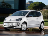 Pictures of Volkswagen up! White 3-door 2011