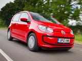 Pictures of Volkswagen up! 5-door UK-spec 2012