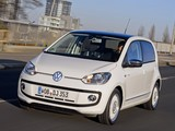 Pictures of Volkswagen up! White 5-door 2012