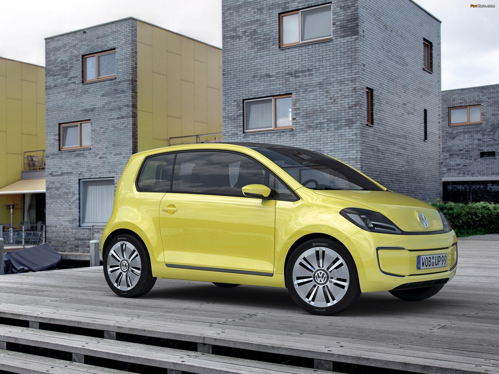 Volkswagen e-up! Concept 2009 wallpapers (2048 x 1536)