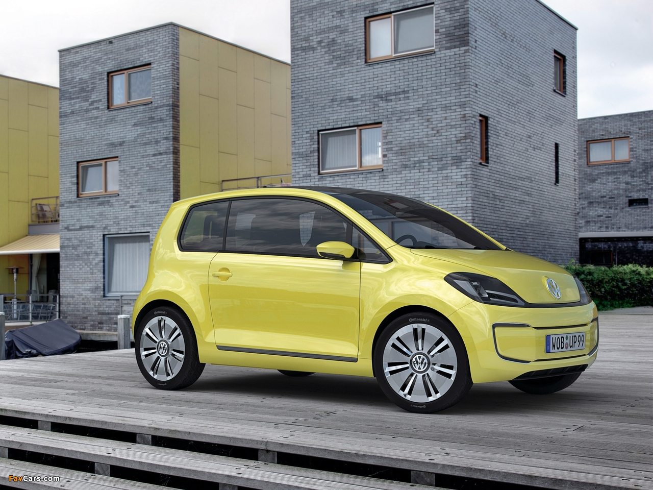 Volkswagen e-up! Concept 2009 wallpapers (1280 x 960)