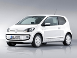 Volkswagen up! White 3-door 2011 images