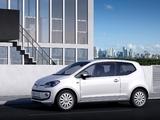 Volkswagen up! White 3-door 2011 photos