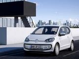 Volkswagen up! White 3-door 2011 pictures
