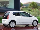 Volkswagen up! White 3-door 2011 wallpapers