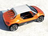 Volkswagen buggy up! Concept 2011 wallpapers