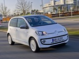 Volkswagen up! White 5-door 2012 images