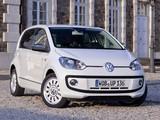 Volkswagen up! White 5-door 2012 photos