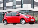 Volkswagen up! 5-door UK-spec 2012 pictures
