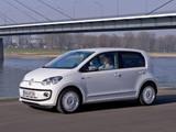 Volkswagen up! White 5-door 2012 pictures