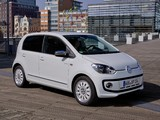 Volkswagen up! White 5-door 2012 wallpapers