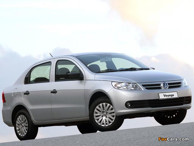 Images of Volkswagen Voyage 2008 (640 x 480)