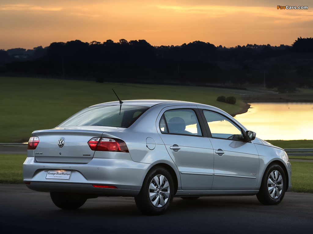 Images of Volkswagen Voyage Bluemotion 2012 (1024 x 768)