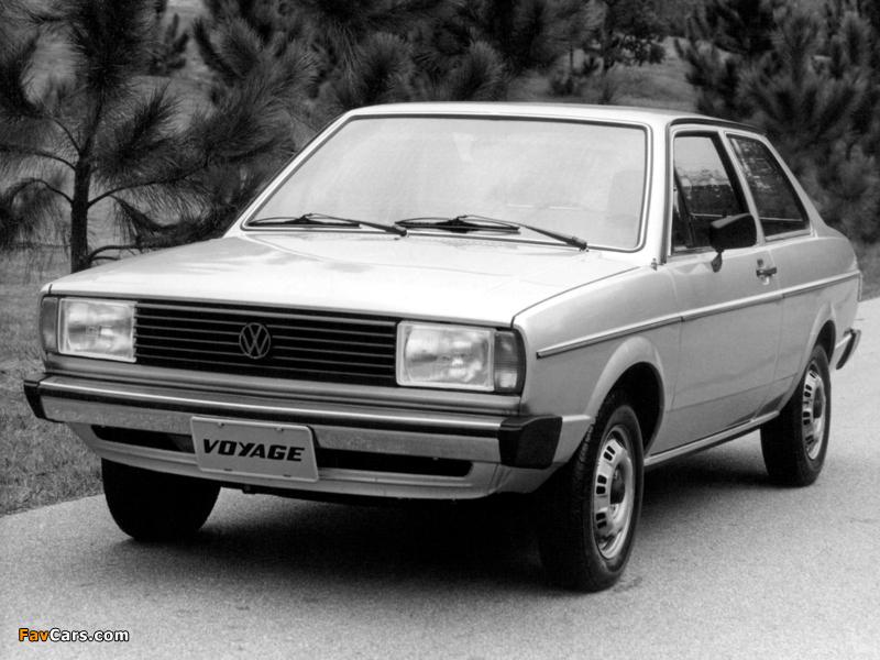 Volkswagen Voyage 1981–87 wallpapers (800 x 600)
