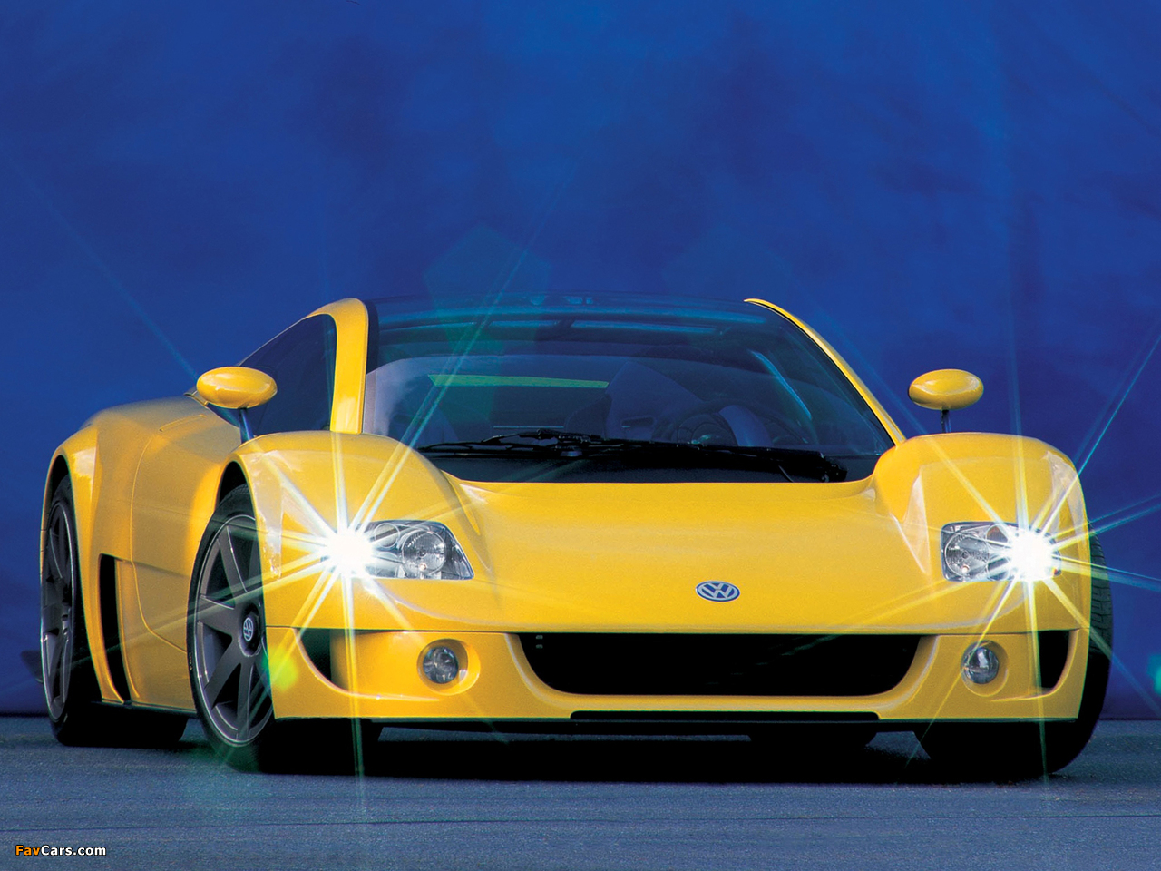 Images of Volkswagen W12 Syncro Concept 1997 (1280 x 960)