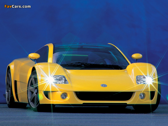Images of Volkswagen W12 Syncro Concept 1997 (640 x 480)