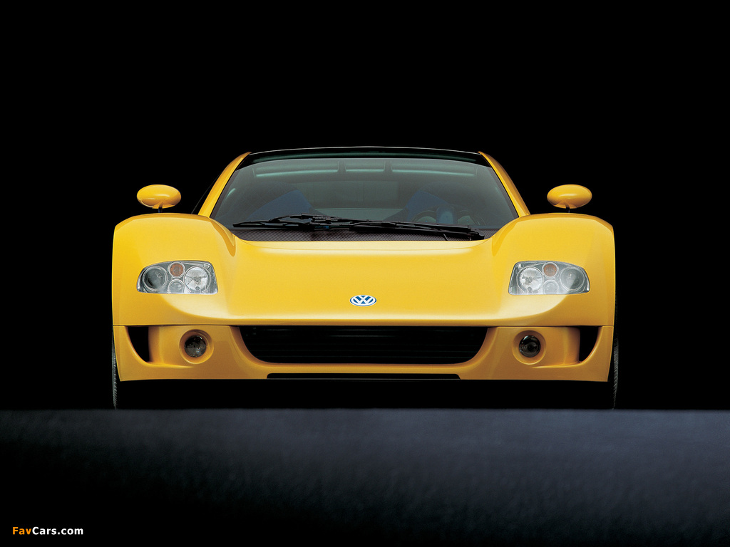 Images of Volkswagen W12 Syncro Concept 1997 (1024 x 768)