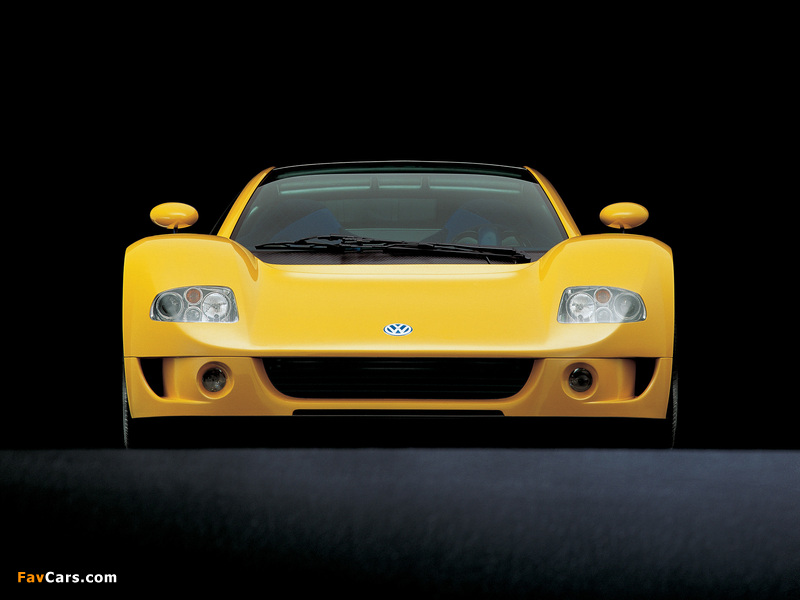 Images of Volkswagen W12 Syncro Concept 1997 (800 x 600)