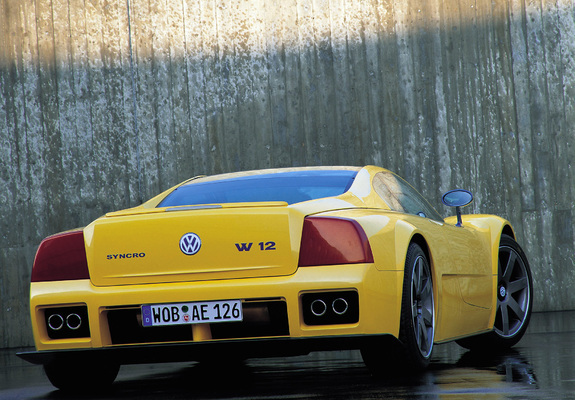 Pictures Of Volkswagen W12 Syncro Concept 1997