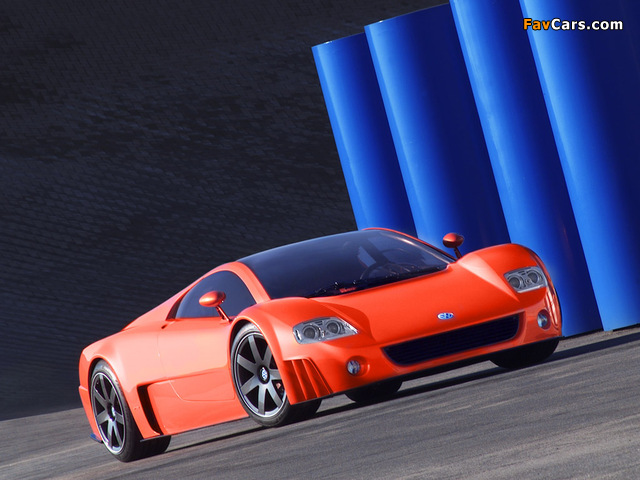 Volkswagen W12 Coupe Concept 2001 wallpapers (640 x 480)