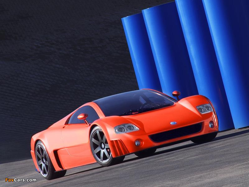 Volkswagen W12 Coupe Concept 2001 wallpapers (800 x 600)