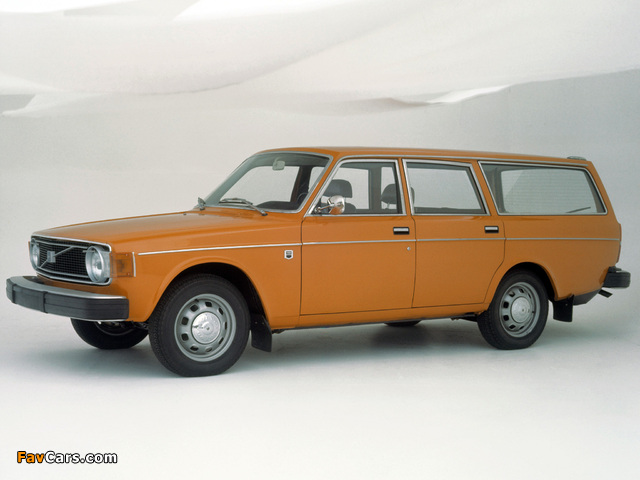 Volvo 145 1973 74 Wallpapers 640x480
