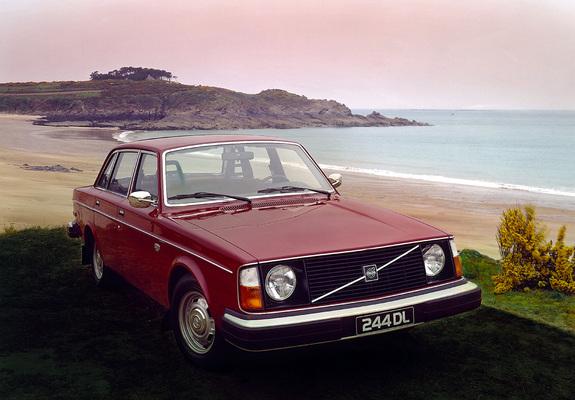Volvo 244 Dl 1975 U201378 Images