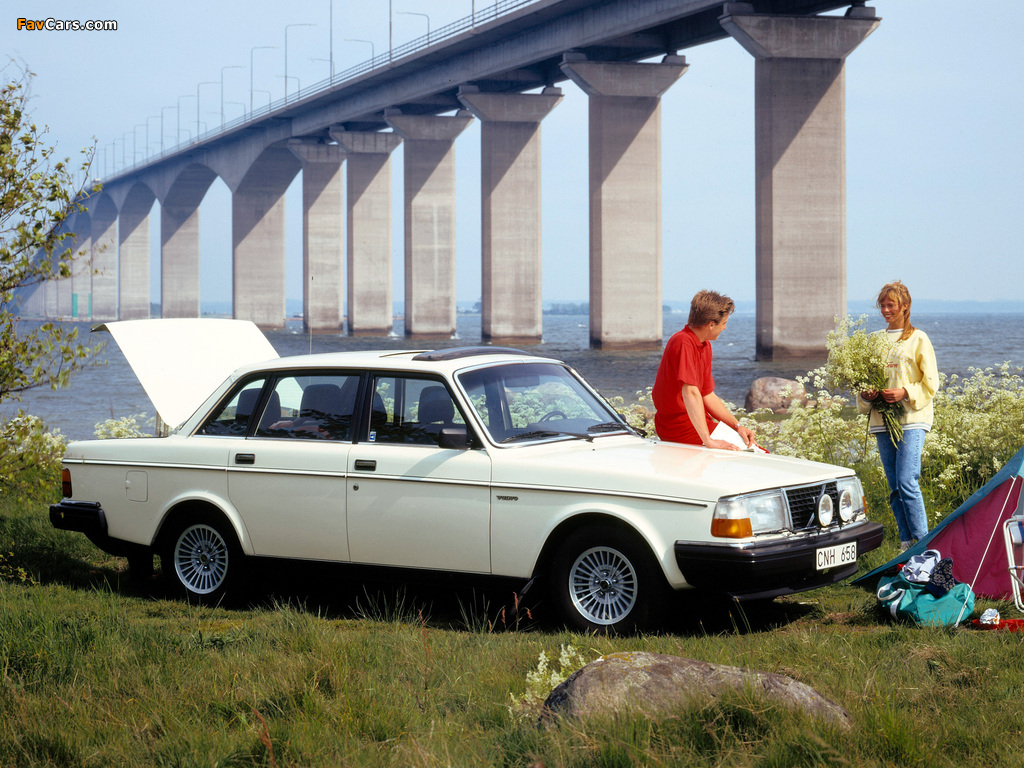 Volvo 244 GL 1979–81 wallpapers (1024 x 768)
