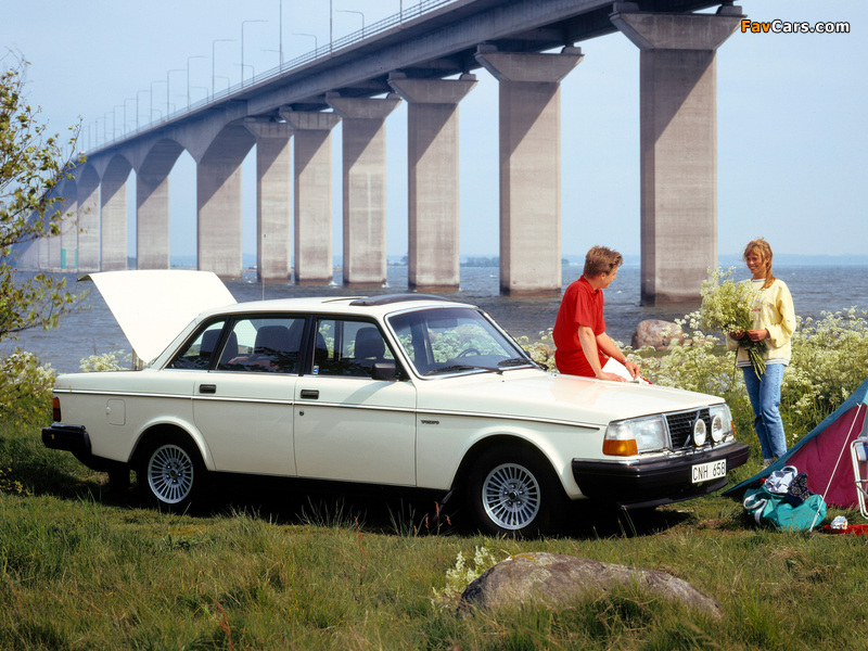 Volvo 244 GL 1979–81 wallpapers (800 x 600)