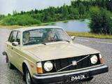 Volvo 244 DL JP-spec 1975–78 wallpapers