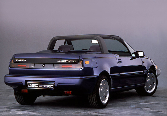 Volvo 480 Turbo Cabrio Prototype 1986 Images