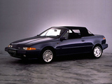 Volvo 480 Turbo Cabrio Prototype 1986 wallpapers