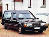 Pictures of Nilsson Volvo 740 Hearse