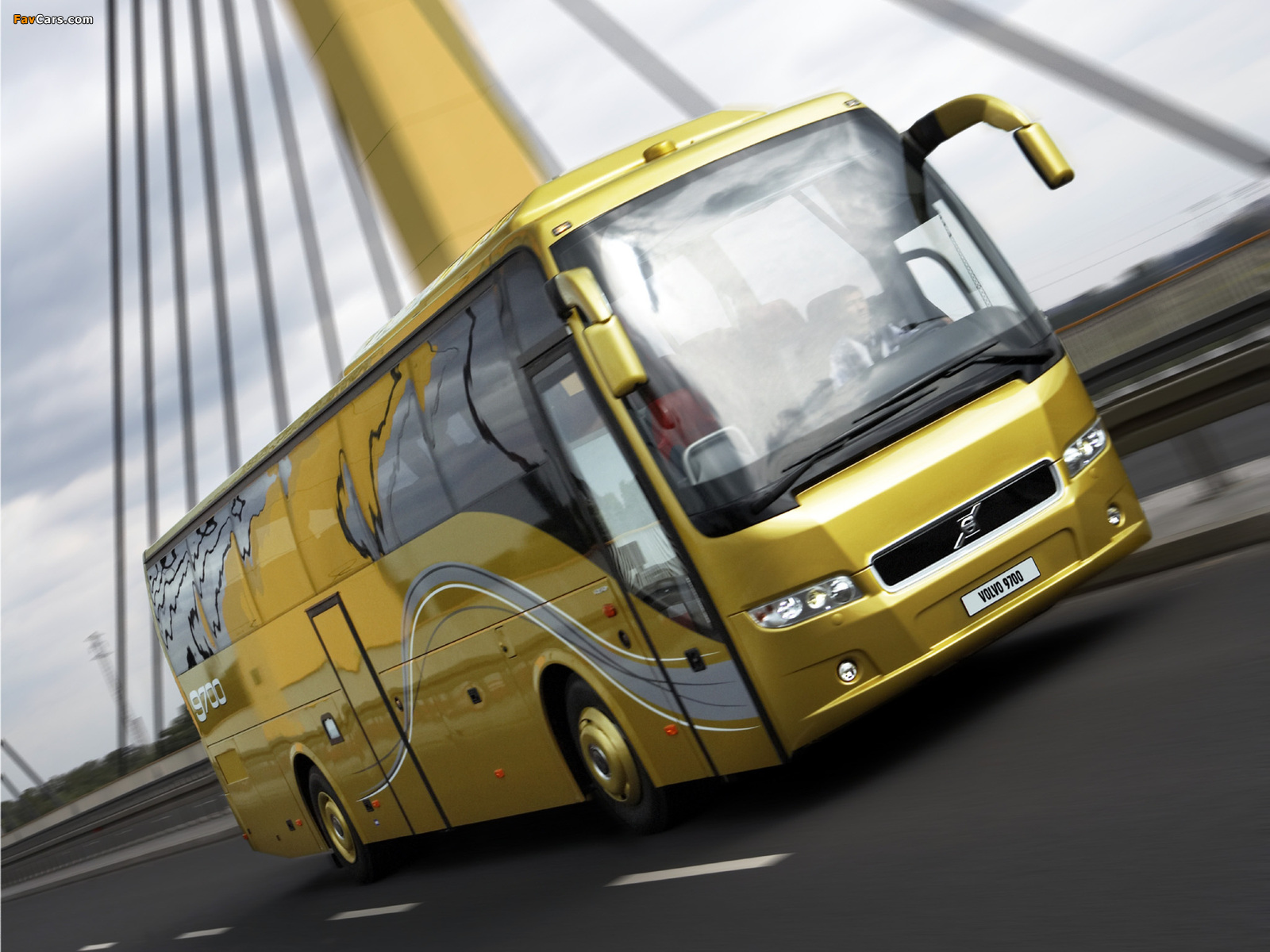 Volvo 9700 4x2 2007 wallpapers (1600 x 1200)