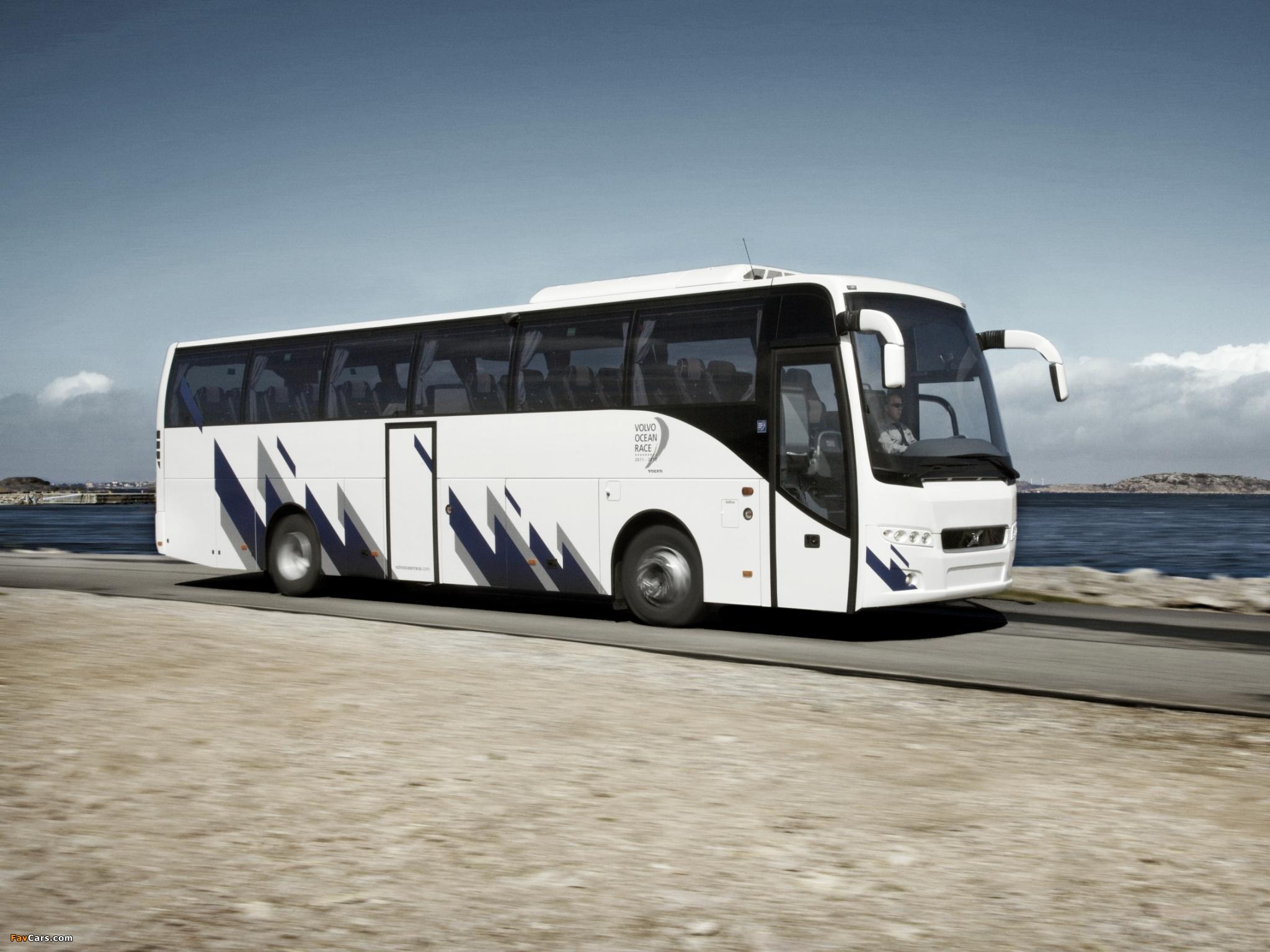 Volvo 9500 Ocean Race 2011 wallpapers (2048 x 1536)