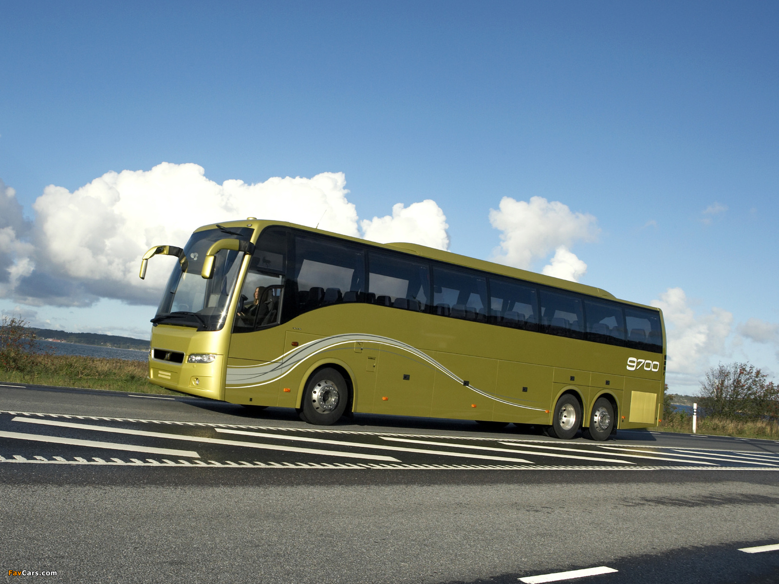 Volvo 9700 6x2 2007 wallpapers (1600 x 1200)